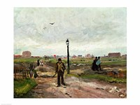 The Outskirts of Paris, 1886 Fine Art Print