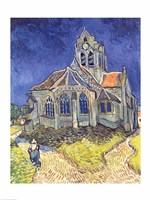 The Church at Auvers-sur-Oise, 1890 Fine Art Print
