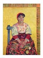 The Italian: Agostina Segatori, 1887 Fine Art Print