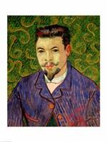 Portrait of Dr. Felix Rey, 1889 by Vincent Van Gogh, 1889 - various sizes