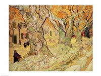 The Road Menders, 1889 by Vincent Van Gogh, 1889 - various sizes, FulcrumGallery.com brand