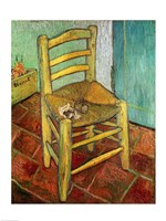 Vincent's Chair, 1888 by Vincent Van Gogh, 1888 - various sizes