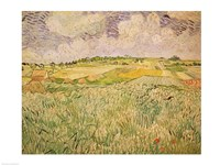 The Plain at Auvers, 1890 by Vincent Van Gogh, 1890 - various sizes