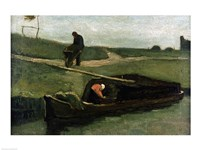 The Peat Boat, 1883 by Vincent Van Gogh, 1883 - various sizes