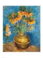 Crown Imperial Fritillaries in a Copper Vase, 1886 by Vincent Van Gogh, 1886 - various sizes
