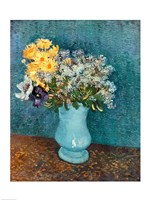 Vase of Flowers, 1887 by Vincent Van Gogh, 1887 - various sizes - $15.99
