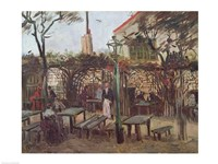 Pleasure Gardens at Montmartre, 1886 by Vincent Van Gogh, 1886 - various sizes