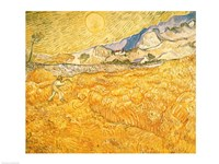 The Harvester by Vincent Van Gogh - various sizes