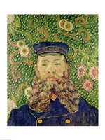 Portrait of the Postman Joseph Roulin, 1889 by Vincent Van Gogh, 1889 - various sizes