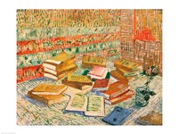 The Yellow Books, 1887 by Vincent Van Gogh, 1887 - various sizes