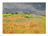 Plain at Auvers, 1890 by Vincent Van Gogh, 1890 - various sizes
