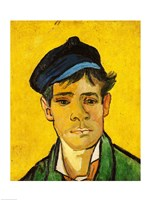 Young Man with a Hat, 1888 by Vincent Van Gogh, 1888 - various sizes