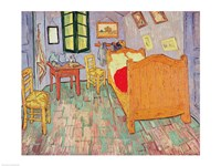 Van Gogh's Bedroom at Arles, 1889 by Vincent Van Gogh, 1889 - various sizes