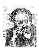 The Man with the Pipe, Portrait of Doctor Paul Gachet Fine Art Print