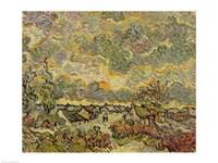 Autumn landscape, 1890 by Vincent Van Gogh, 1890 - various sizes - $16.49
