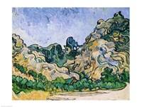 The Alpilles, 1889 by Vincent Van Gogh, 1889 - various sizes