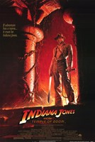 Indiana Jones and the Temple of Doom Harrison Ford Wall Poster