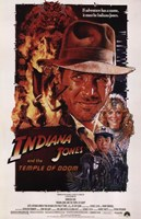 Indiana Jones and the Temple of Doom Fine Art Print