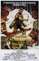 Indiana Jones and the Temple of Doom Movie Fine Art Print
