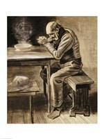 The Prayer, 1882 Framed Print