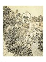The Flower Garden, 1888 Fine Art Print