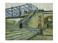 The Bridge at Trinquetaille Fine Art Print