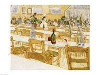 A Restaurant Interior, 1887-88 Fine Art Print