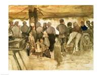 The Potato Market, 1882 Fine Art Print