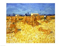 Harvest in Provence by Vincent Van Gogh - various sizes
