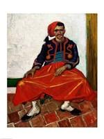 The Zouave, 1888 Fine Art Print