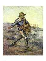 The Sower by Vincent Van Gogh - various sizes, FulcrumGallery.com brand