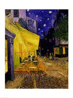 Cafe Terrace, Place du Forum, Arles, 1888 by Vincent Van Gogh, 1888 - various sizes