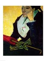 L'Arlesienne (detail) by Vincent Van Gogh - various sizes