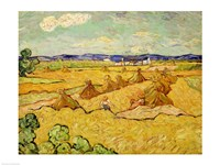 The Haystacks by Vincent Van Gogh - various sizes - $16.49