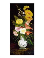 Vase of Flowers, 1886 Fine Art Print
