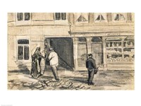 The Bakery in de Geest, 1882 Fine Art Print