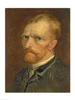 Self portrait, 1886 Fine Art Print