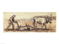 At the Plough by Vincent Van Gogh - various sizes