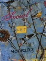 "Social Networking by Sir William Jardine - 18"" x 24"""
