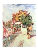 French Street Scene by Vincent Van Gogh - various sizes