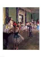 The Dancing Class Fine Art Print