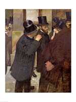 At the Stock Exchange by Edgar Degas - various sizes