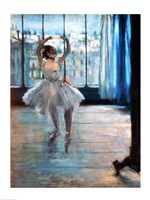 Dancer in Front of a Window Fine Art Print