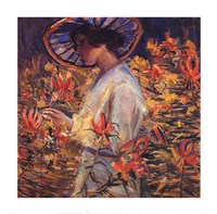 "In the Garden, 1917 by Donna Schuster, 1917 - 26"" x 26"""