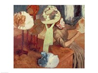 The Millinery Shop Fine Art Print