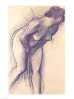 Female Standing Nude Fine Art Print