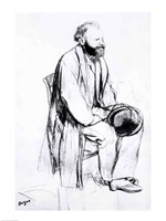 Study for a portrait of Manet Fine Art Print
