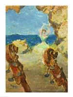 The Ballet Dancer, 1891 by Edgar Degas, 1891 - various sizes, FulcrumGallery.com brand