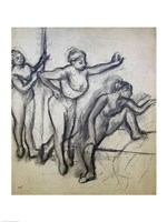 Three Dancers Fine Art Print