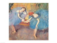 Two Dancers at Rest Fine Art Print